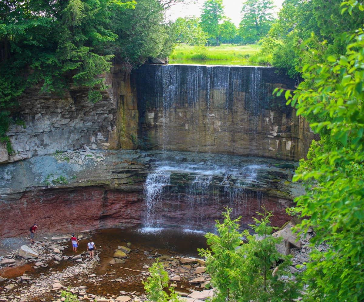 Indian Falls Grey County Waterfalls