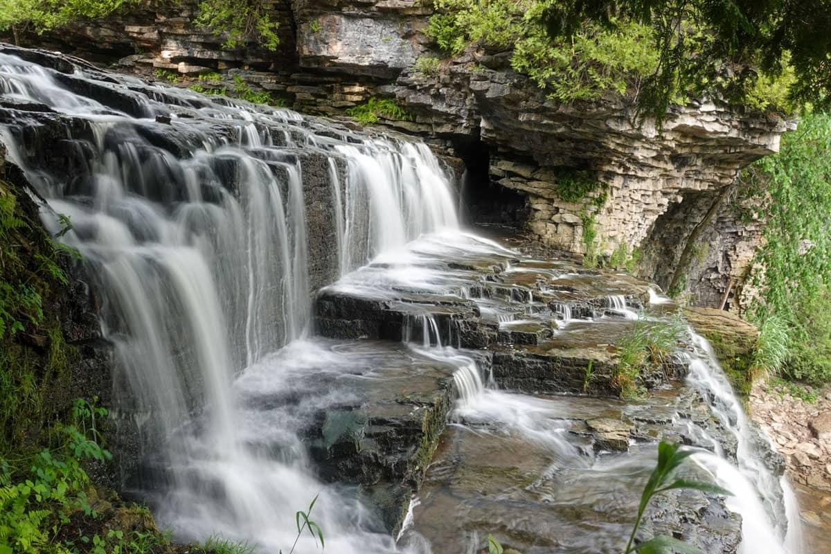 Upper view Jones Falls Ontario