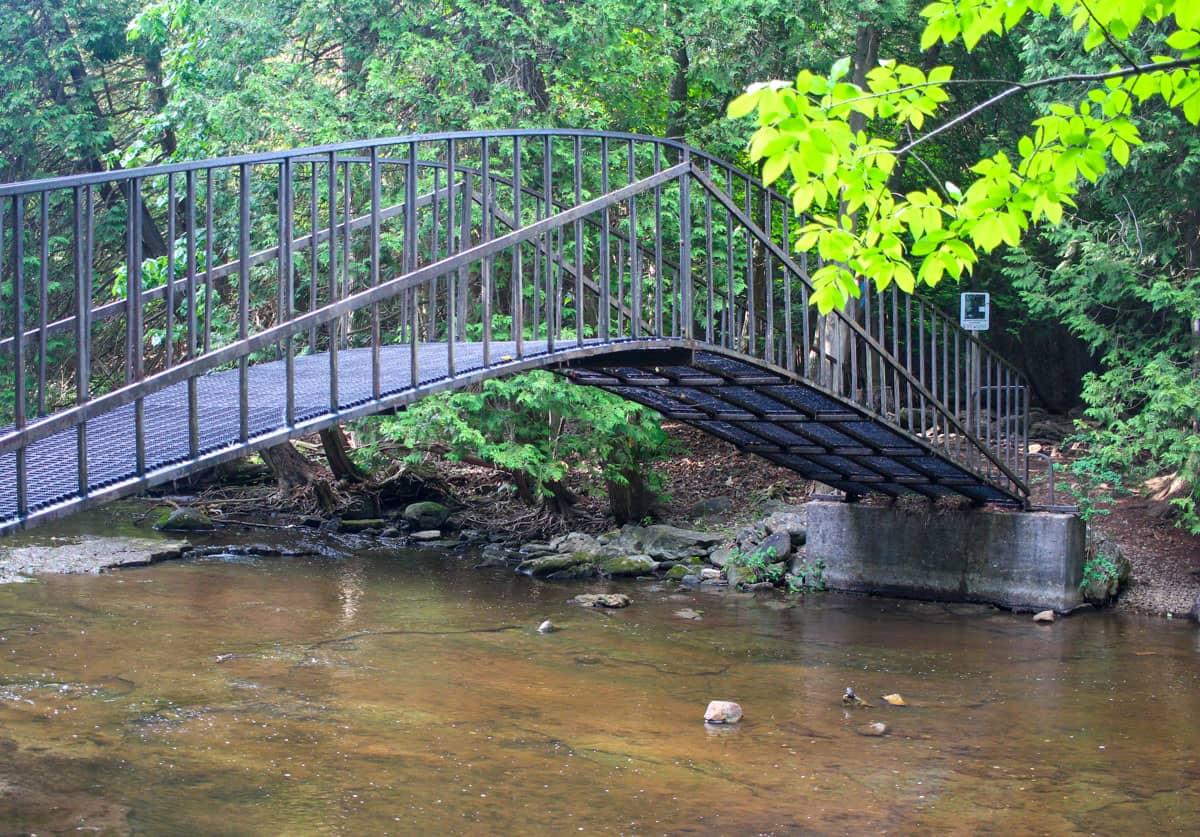 Sid Pearce Bridge Jones Falls Ontario