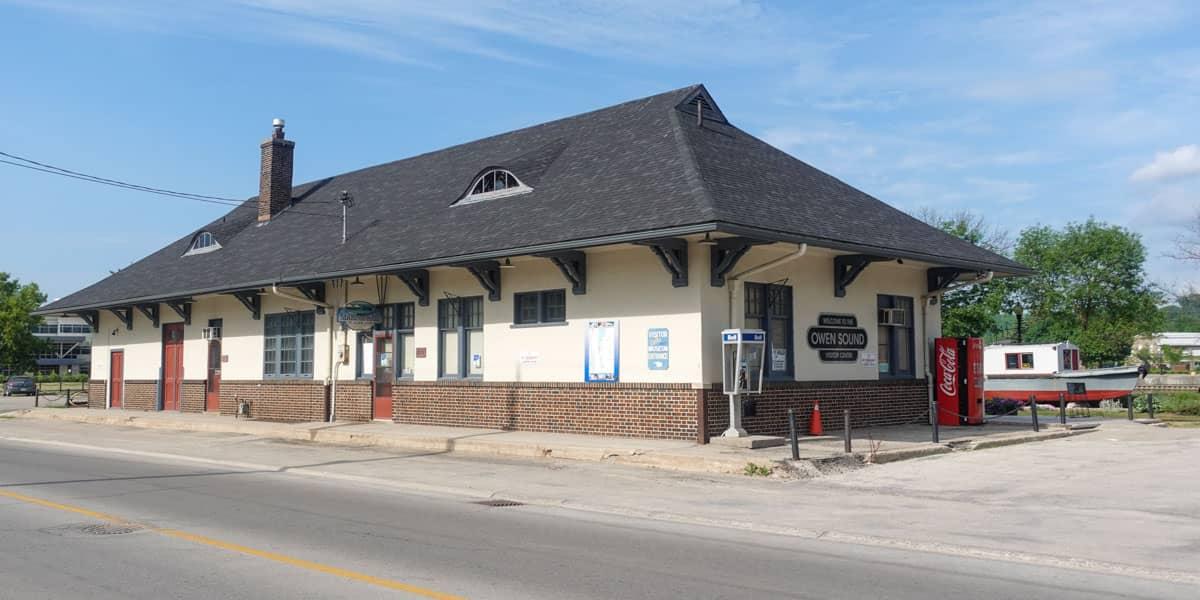 Visitor Center Owen Sound Ontario
