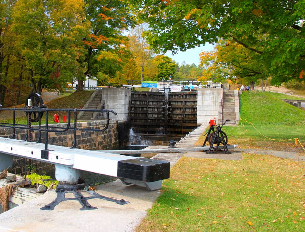 Lower lock door with upper door in background