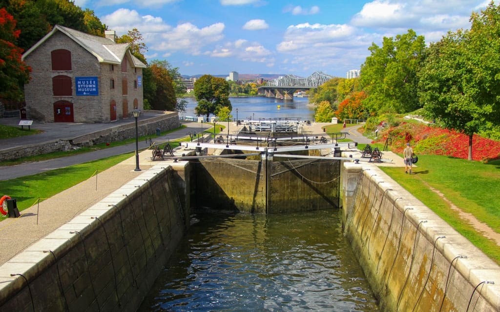 Rideau Canal Locks and Bytown Museum