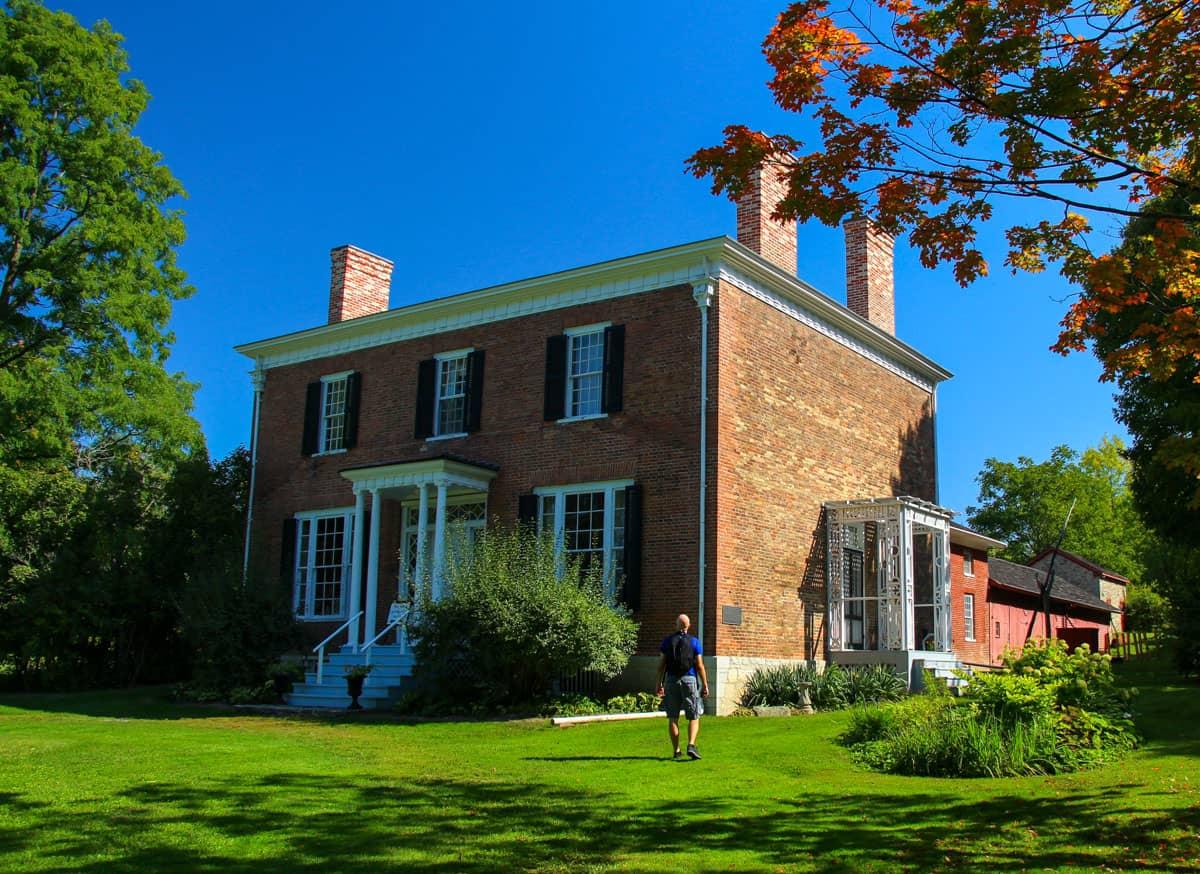 Person Macaulay House Prince Edward County