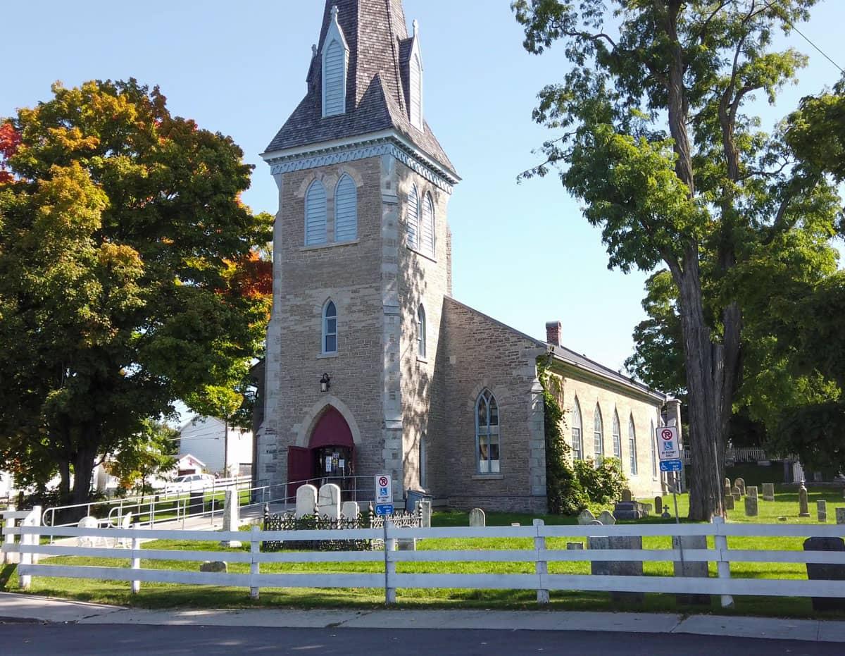 Church yard Macaulay Park Prince Edward County
