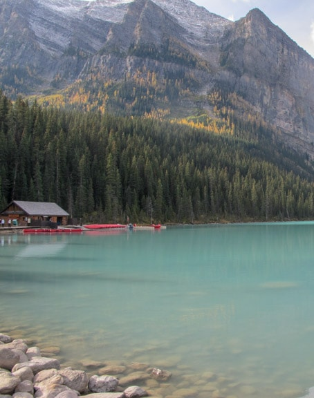 Canoe and kayak rental Lake Louise