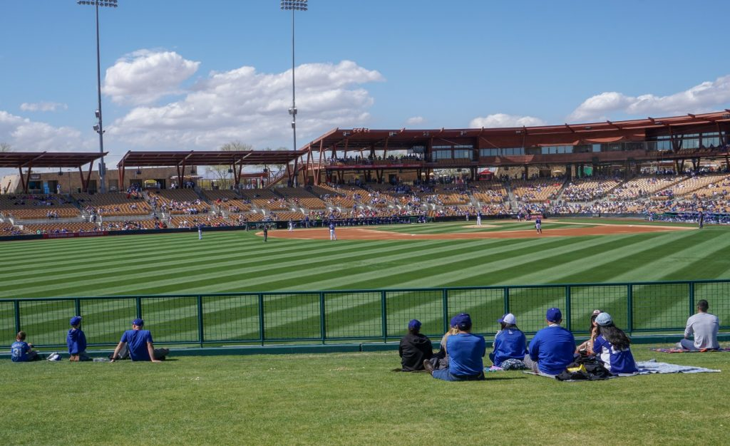 Camelback Ranch Spring Training home of Chicago White Sox and Los Angeles Dodgers