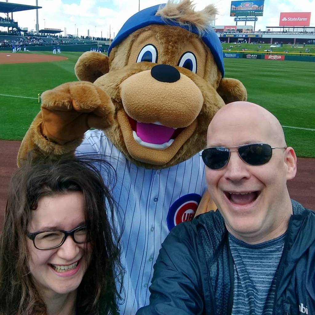 Chicago Cubs Mascot Clark