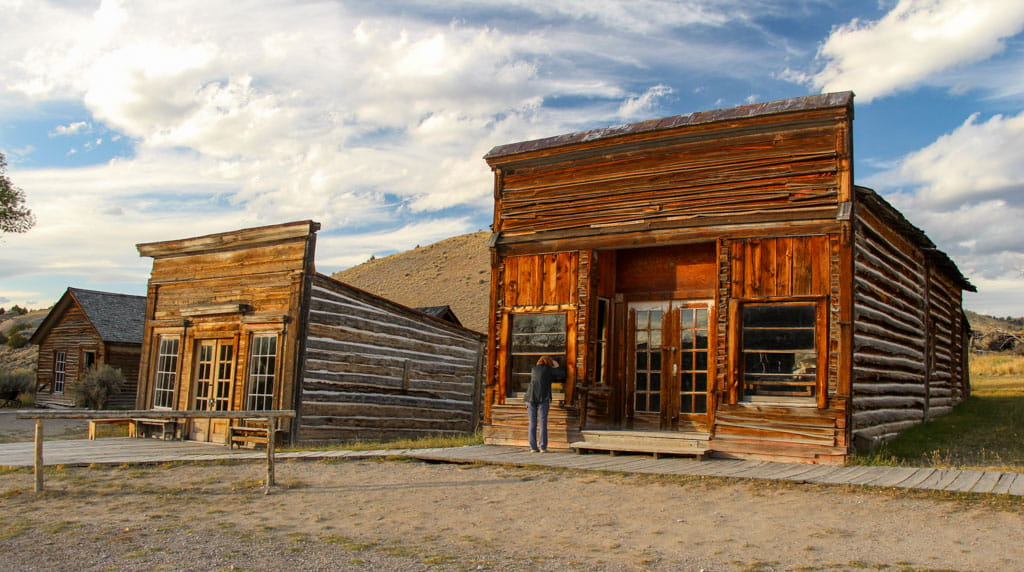 Bannack's Assay Office and City Drug