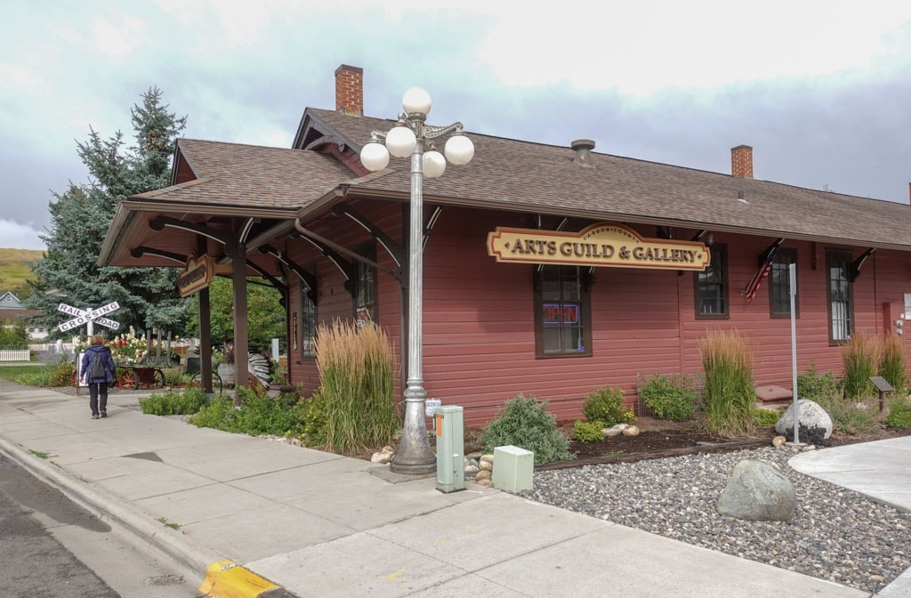 Former Railway station houses Carbon County Depot Gallery