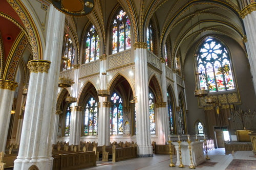 Interior Cathedral of Saint Helena