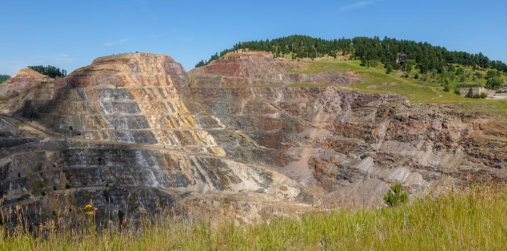 Open Pit at Homestake Gold Mine
