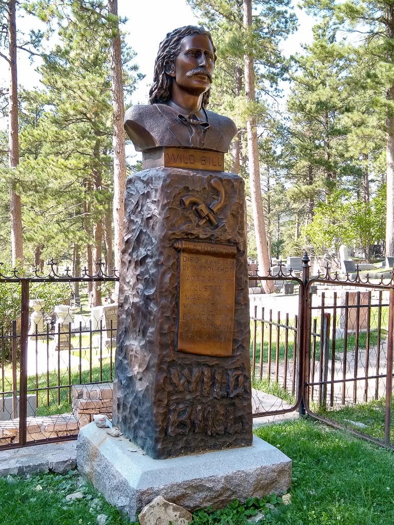 Wild Bill Hickok's Tombstone