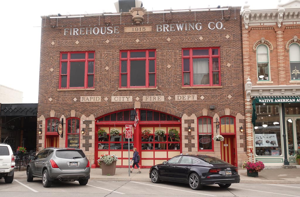 Firehouse Brewing Co. in former Rapid City Firehall built in 1915