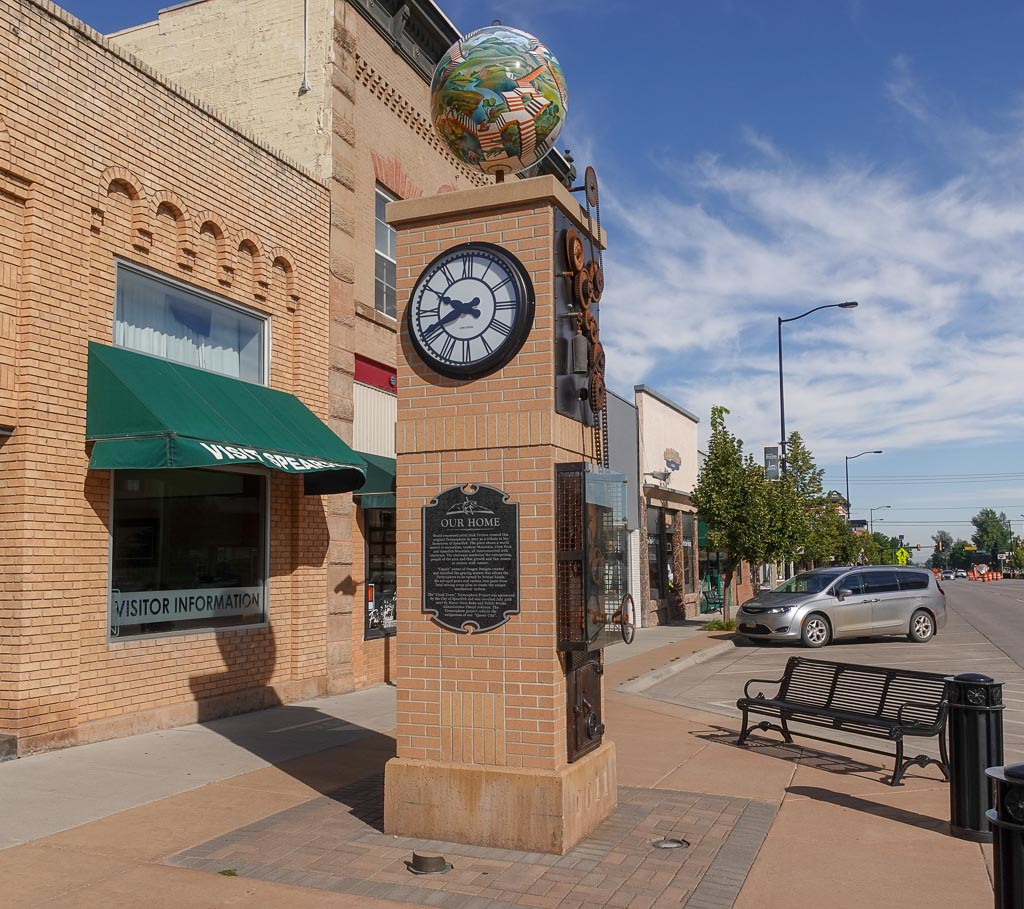 Spearfish Clock Tower with Termesphere