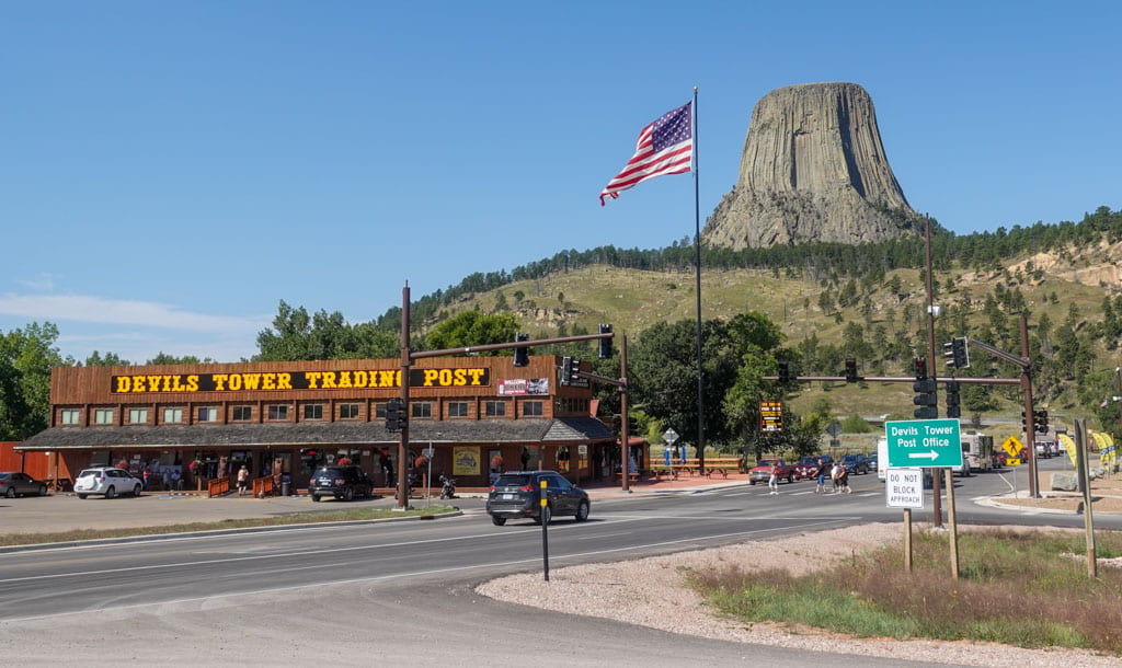 Devils Tower Trading Post just outside park