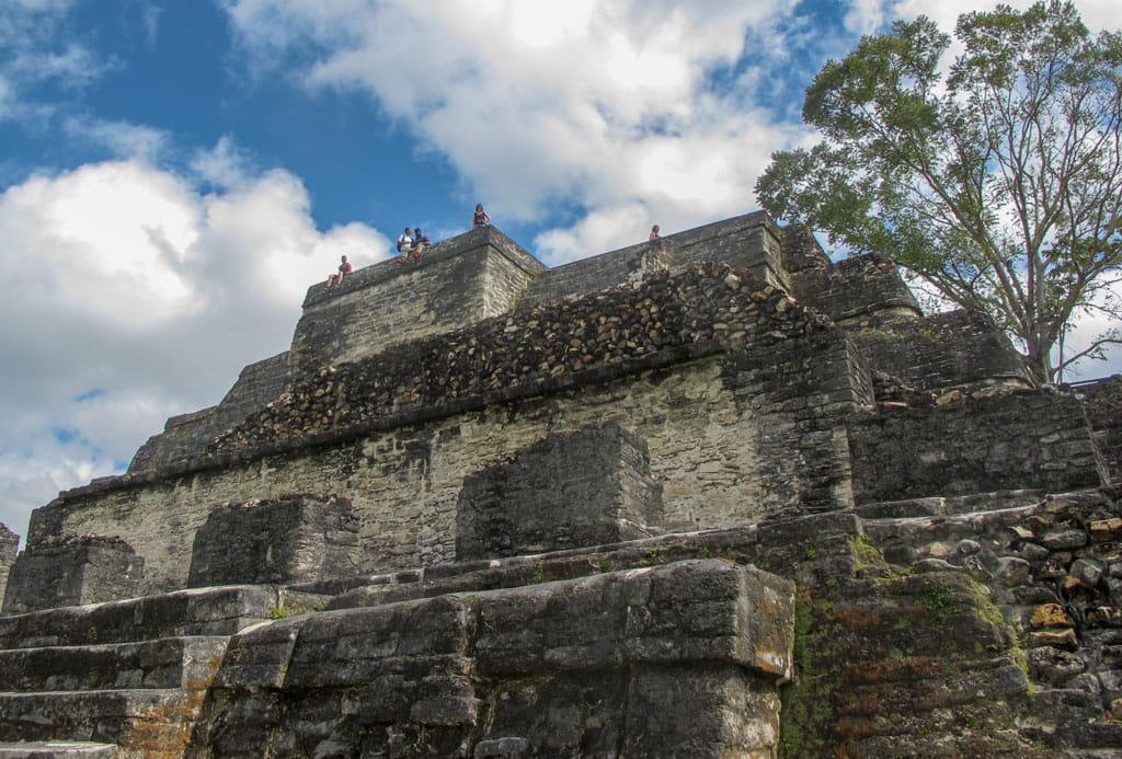 People on top of Temple of Masonry Altars