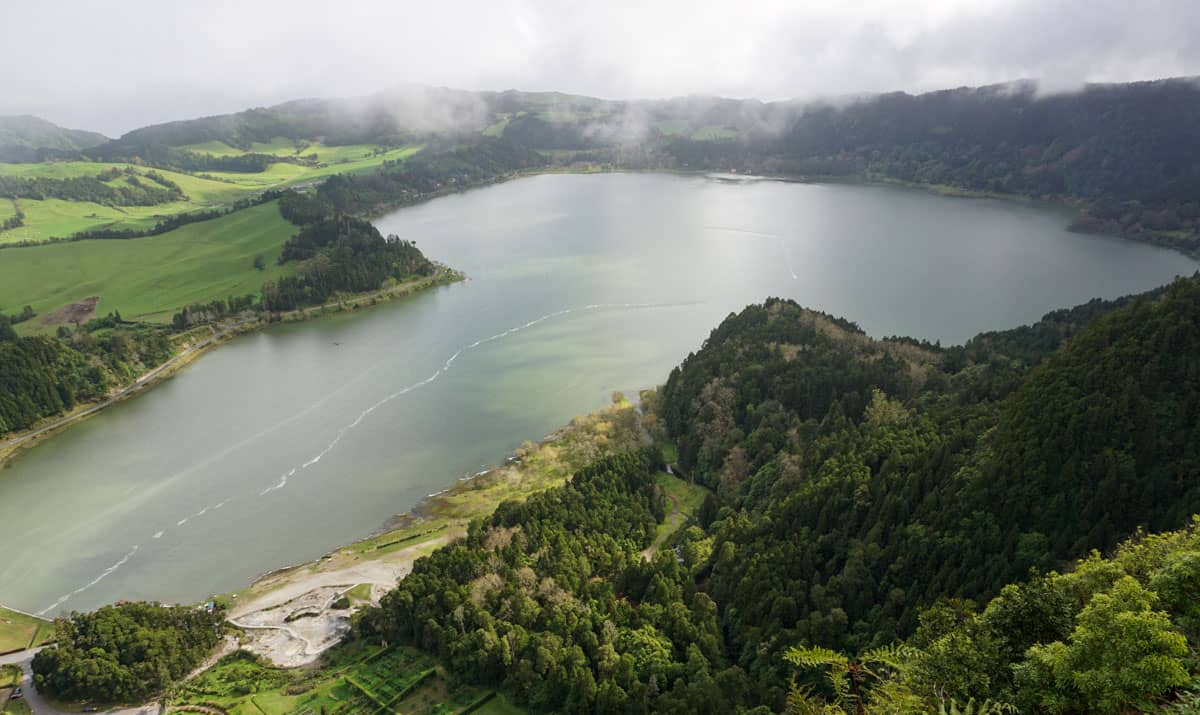 Aerial View Furnas Lake