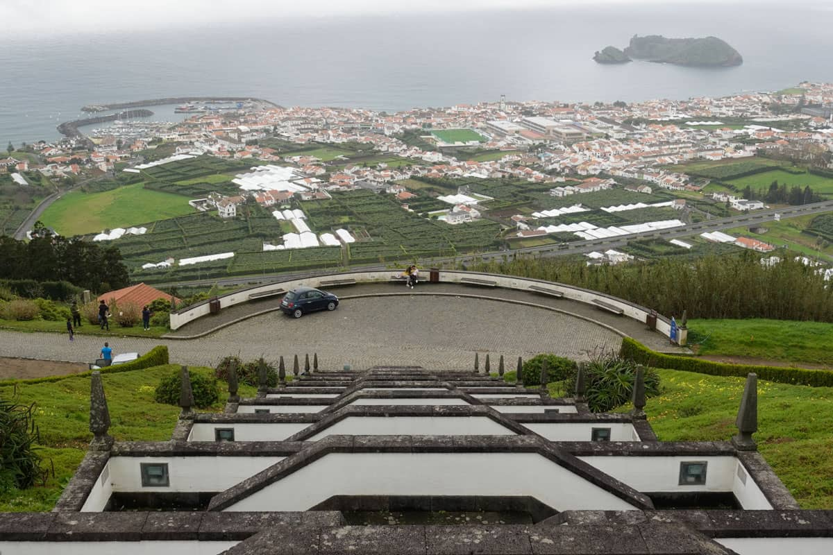 Vila Franca do Campo and islet Sao Miguel