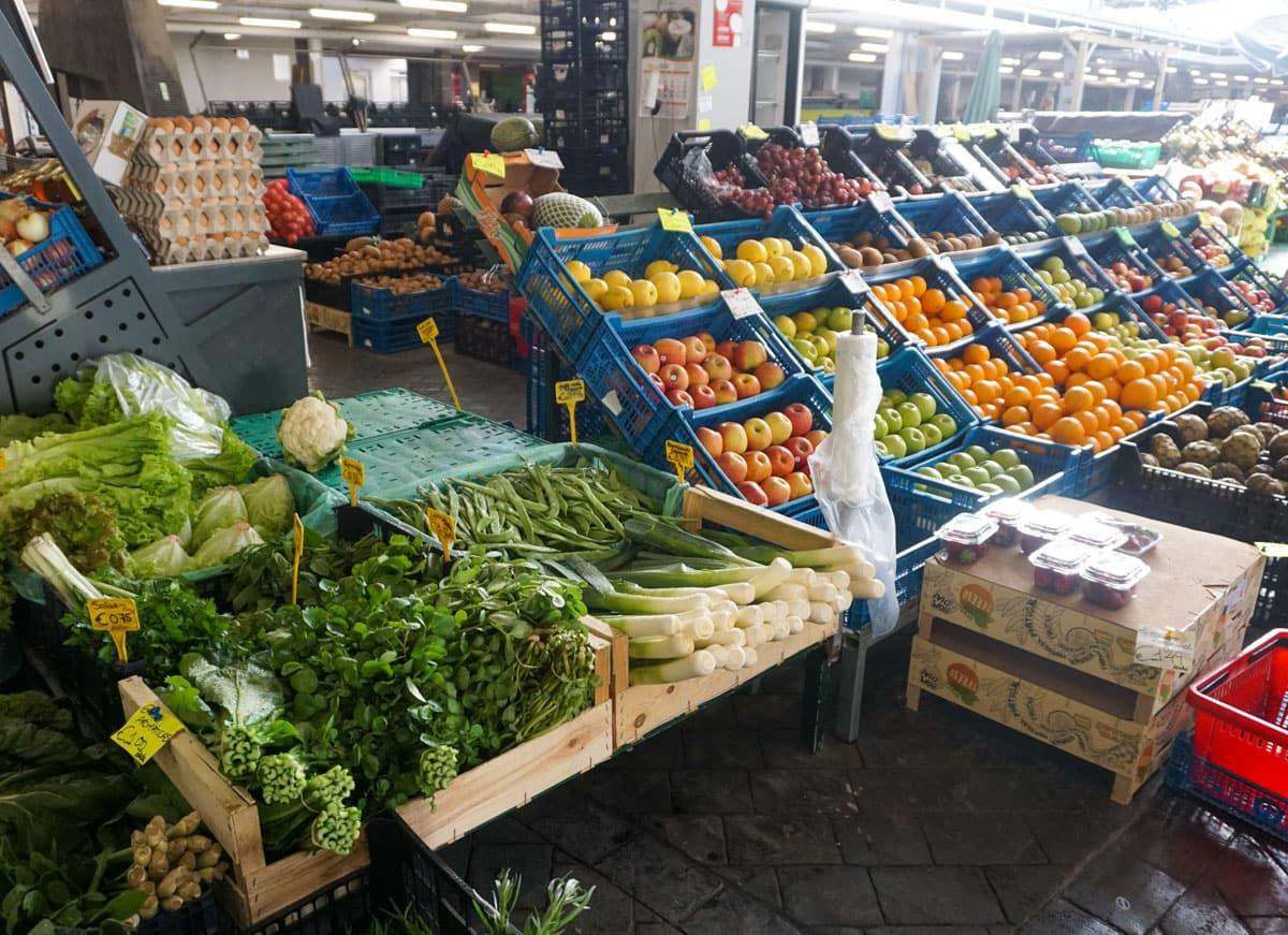 Produce stand Ponta Delgada Grace Market
