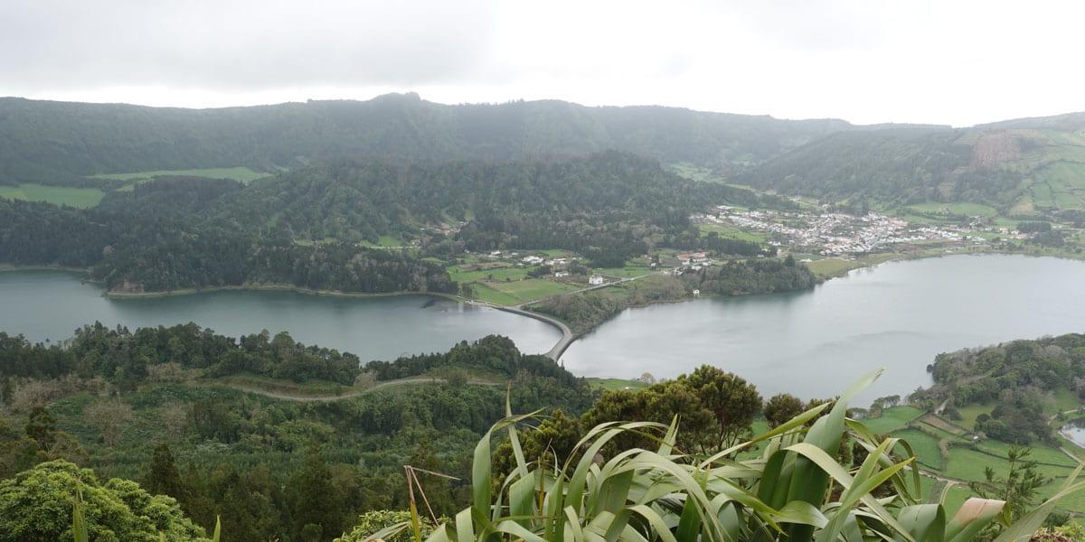 Sete Cidades Lake Cerrado das Freiras Viewpoint