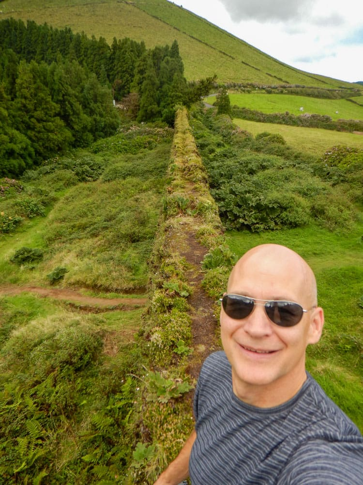 Standing on Coal Aqueduct Sete Cidades