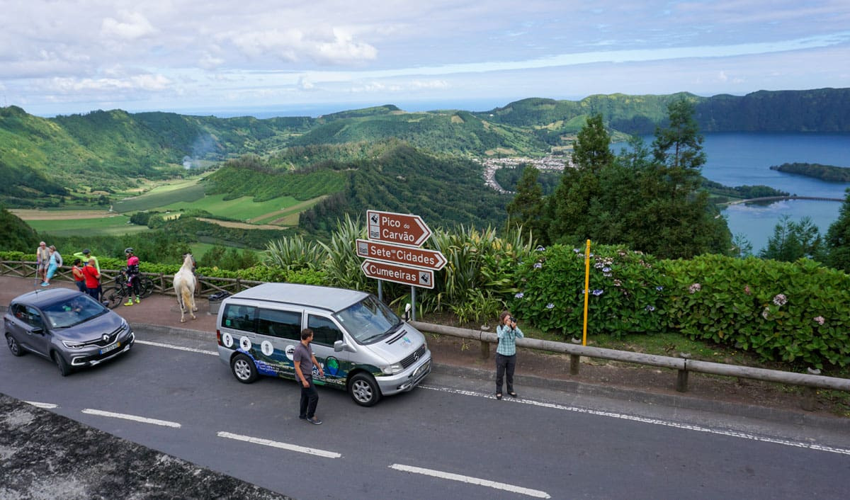 Road King's Viewpoint Sete Cidades Azores