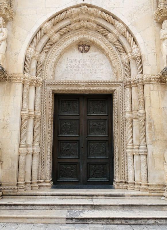 Doorway of Saint James Cathedral