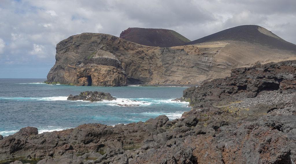 Capelinhos Volcano newest Faial volcano