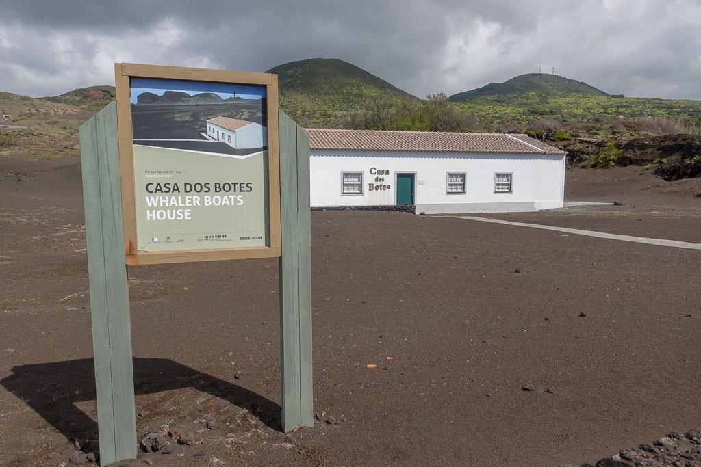 Casa dos Botes museum Faial