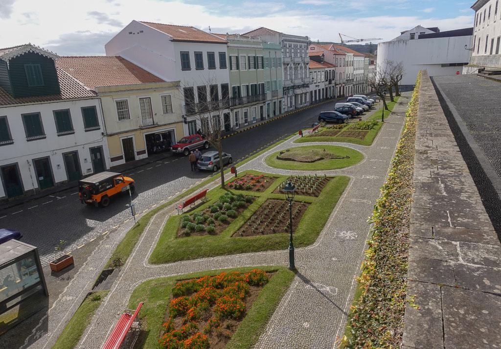 Downtown Horta Faial street