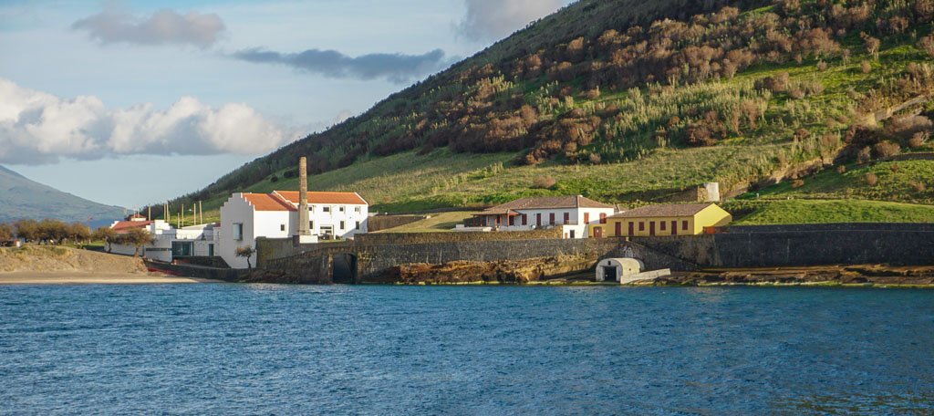 Porto Pim Whaling Station and Dabney House Faial